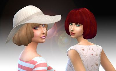 The Sims 4 | My Stuff: Urban Hairstyle | female adult new mesh hairs