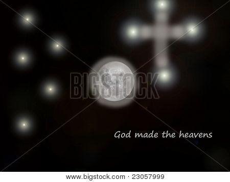 God made the heavens