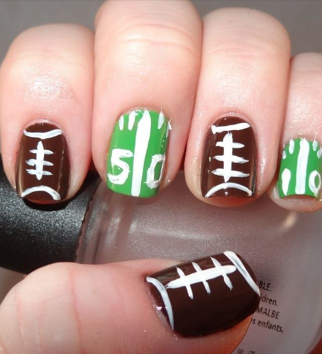 25 football nails ideas