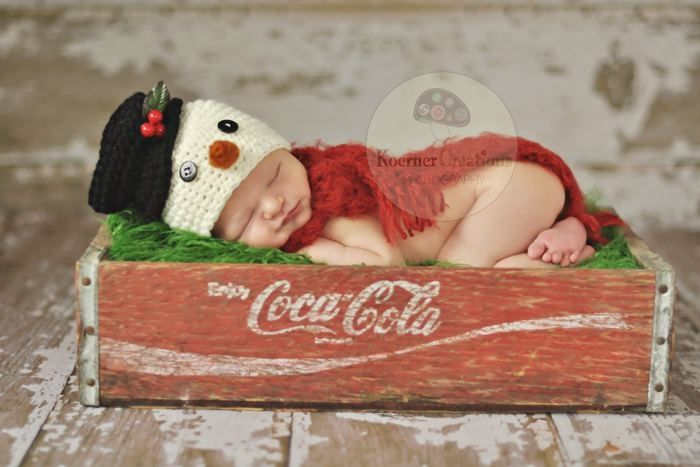 coca cola, AND a snowman? cute, and cuter!