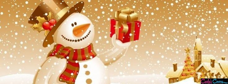 Snowman Facebook Cover Timeline Banner Facebook Covers ...