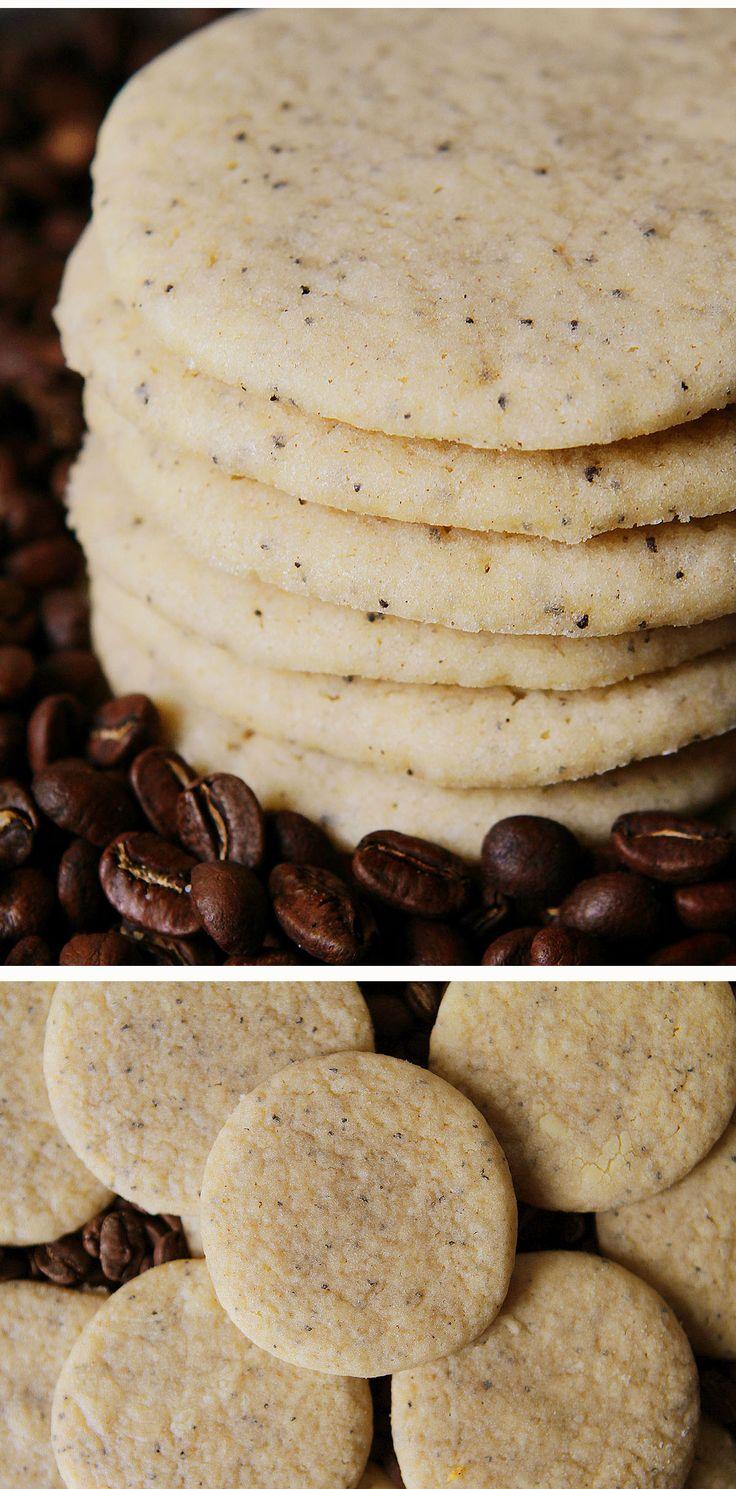 Coffee Sugar Cookies!