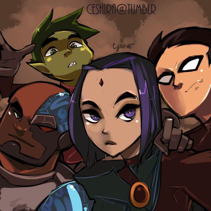 Teen titans Redraw # 32 by ceshira