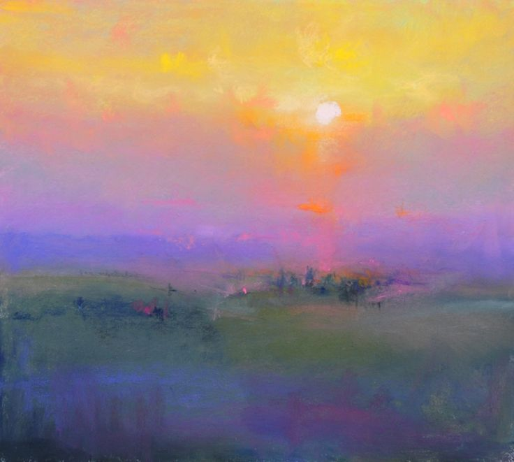 One Tuscan Evening British Contemporary Artist Norman SMITH