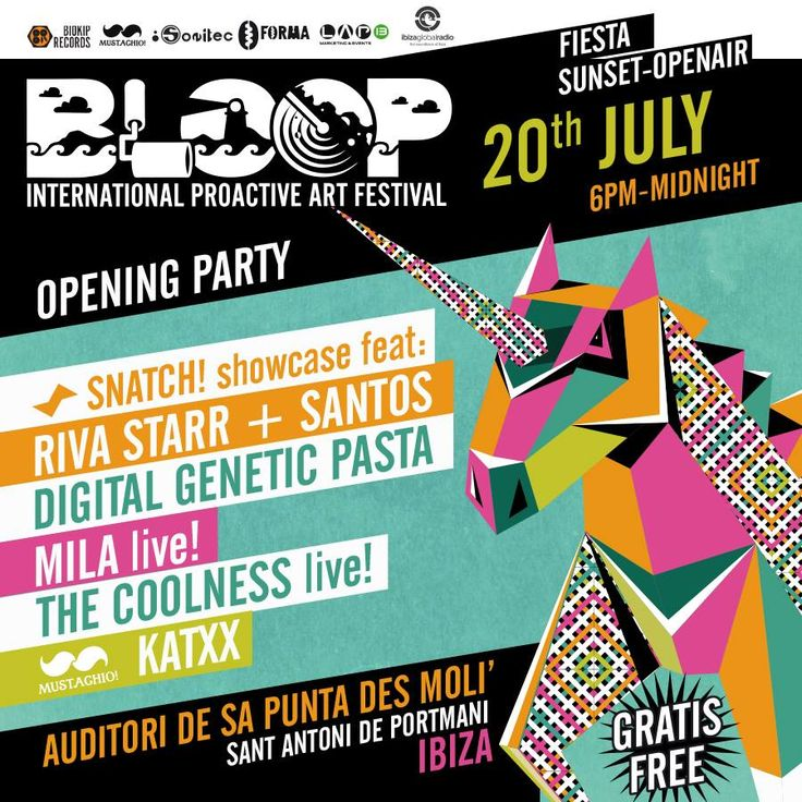 BLOOP - Opening Party
