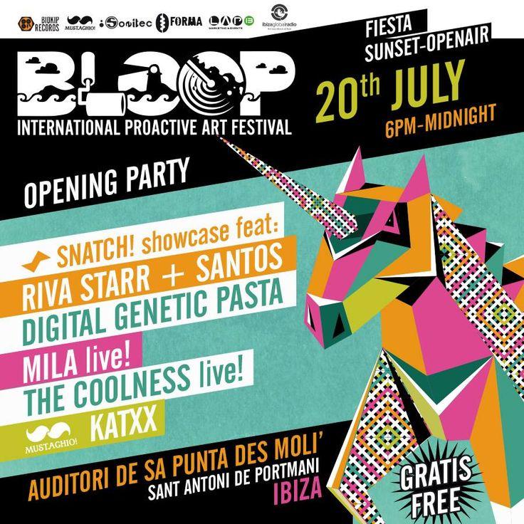 BLOOP - Opening Party