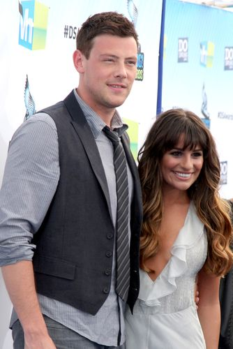 Is lea michele dating cory