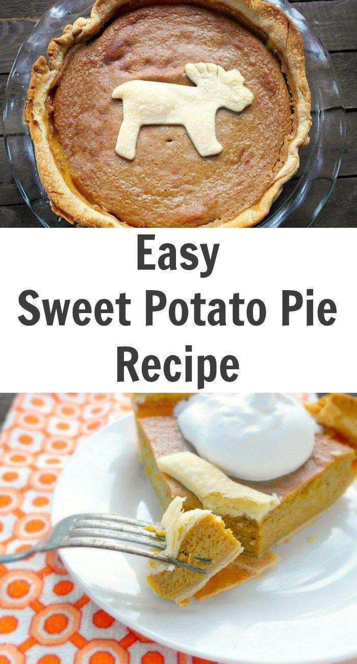 Easy Sweet Potato Pie Recipe