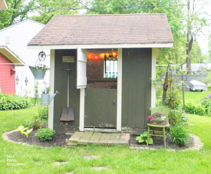 60 best Shed Redo images on Pinterest | Decks, Outdoor gardens and ...