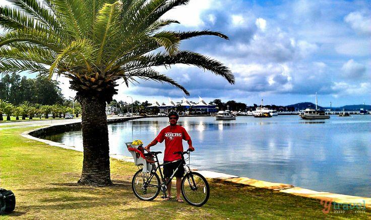 Brisbane water cycle track