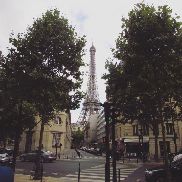 La Tour Eiffel, Paris, France, July 2015