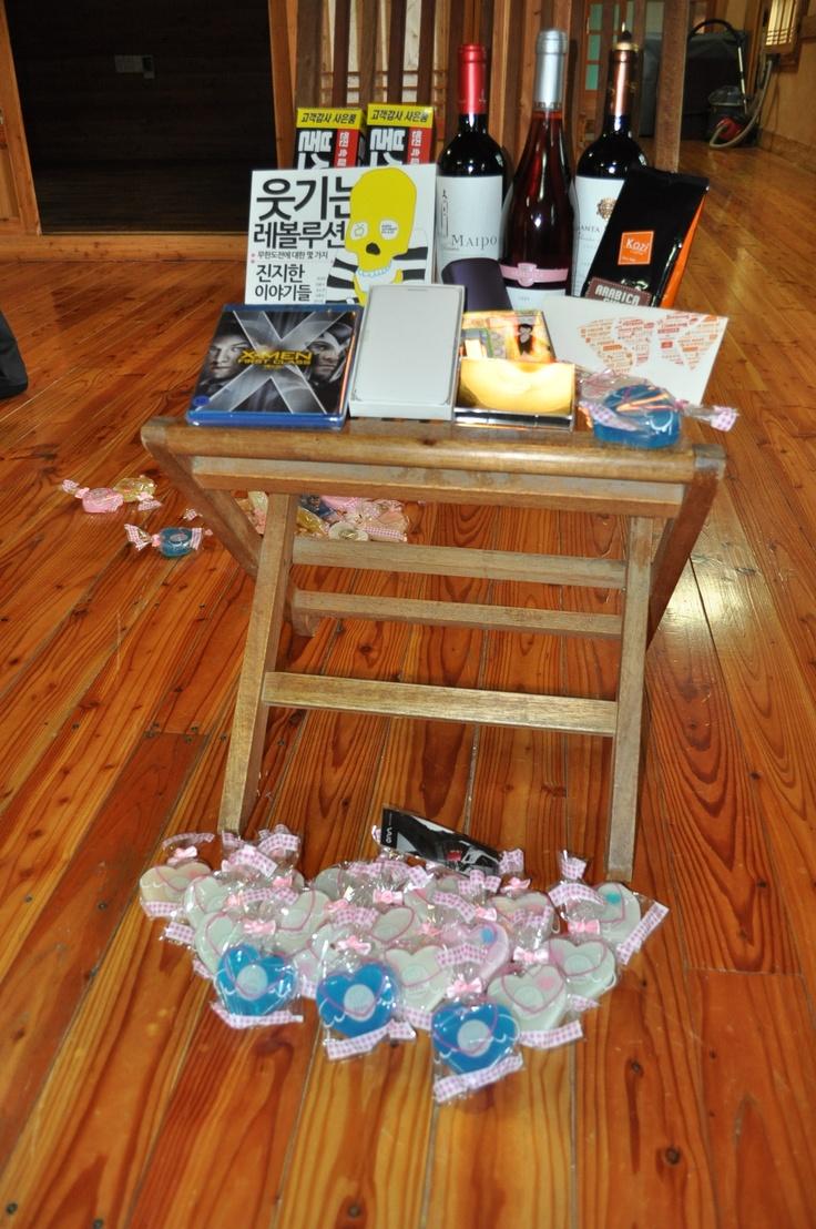 2012 TNM 파트너 야유회에 기증된 아름다운 협찬품들!