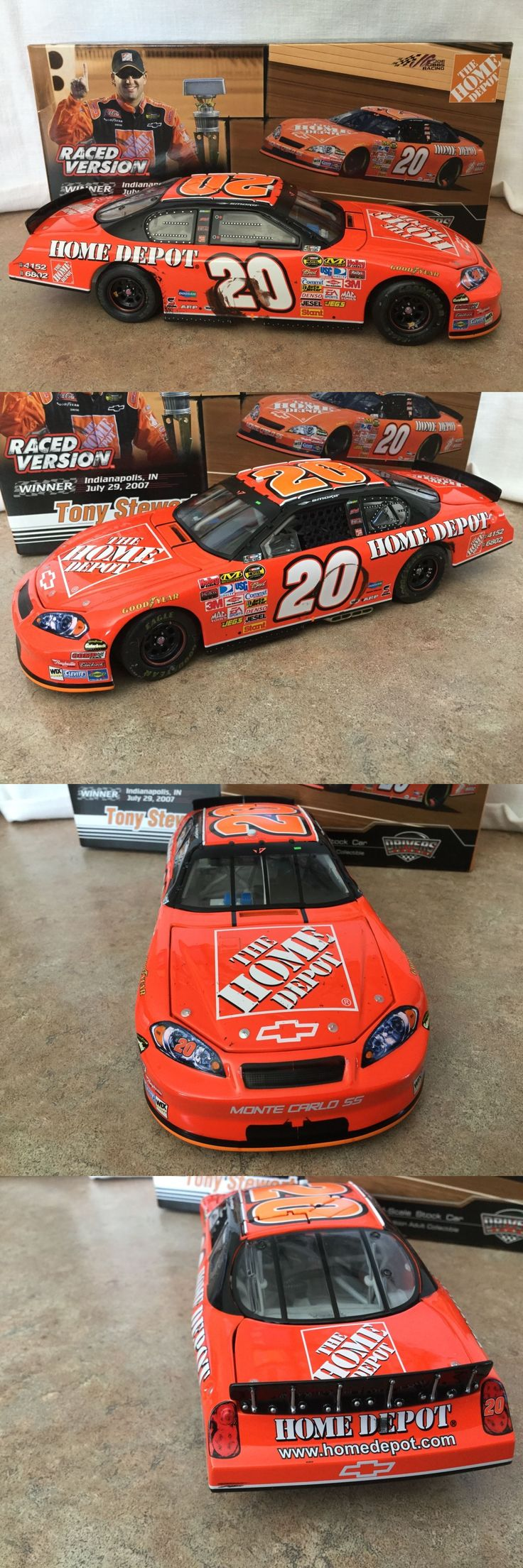 Other Diecast Racing Cars 45354: 2007 Tony Stewart #20 Home Depot Indy Race Win Chevy Monte Carlo 1 24 Cwc -> BUY IT NOW ONLY: $59.95 on eBay!