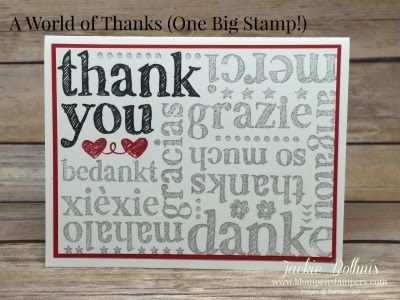 A World Of Thanks (Klompen Stampers)