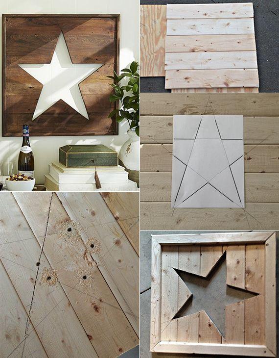 wie kann ich einen stern aus holz basteln ze dreva diy upcycled crafts a crafts. Black Bedroom Furniture Sets. Home Design Ideas