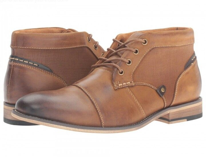 Steve Madden Jerom (Dark Tan) Men's Lace up casual Shoes