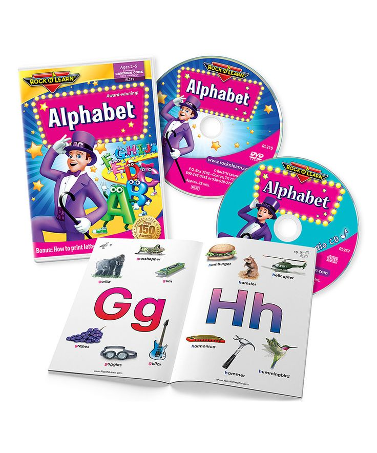 LEARN THE ALPHABET -- LEARN THE LETTERS OF THE ALPHABET ...
