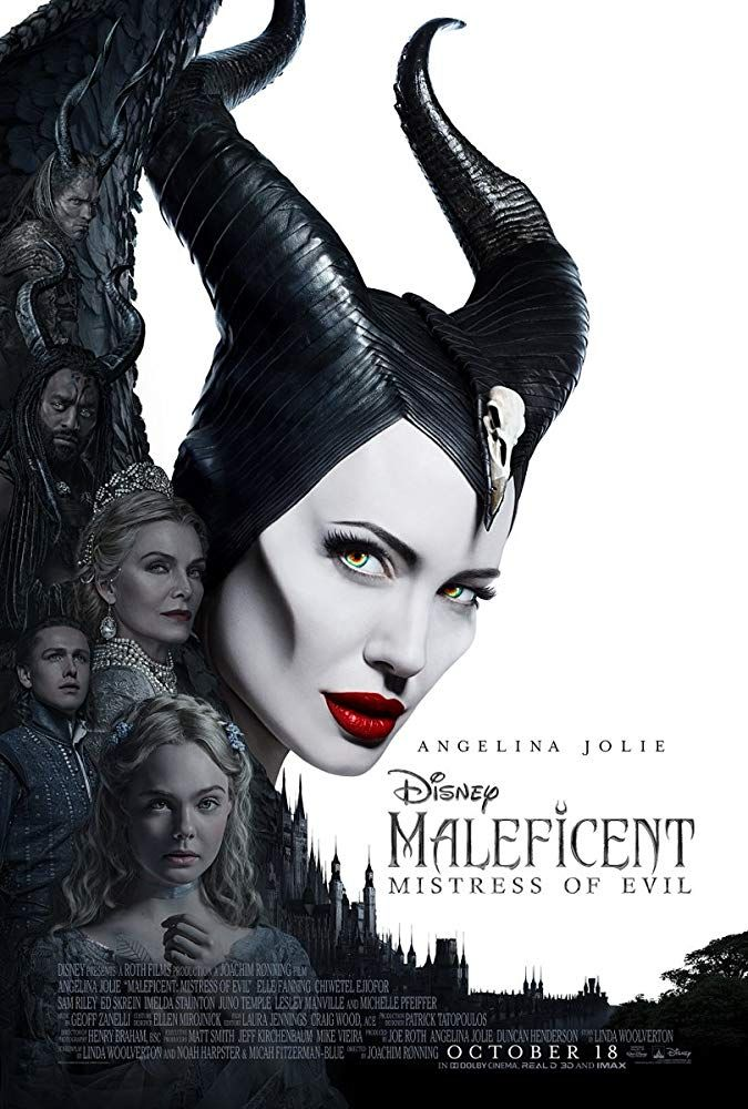 Maleficent Poster Angelina Jolie Sleeping Beauty Movie FREE P+P CHOOSE YOUR SIZE