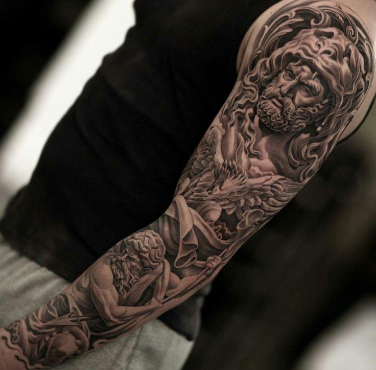100 electronic inspired blackwork sleeve tattoo 198 for Georgie williams tattoo