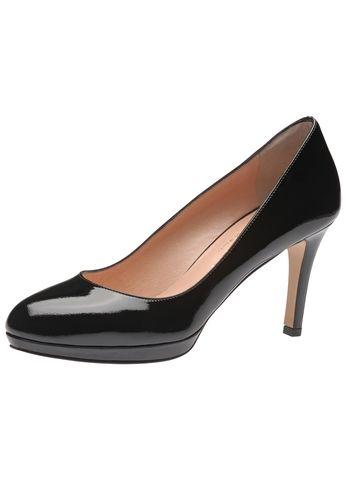 Stylegarant für feminine Looks: Der neue Damenpumps von Evita begeistert durch geradliniges Design und handgefertigte Qualität. Das dezente Plateau akzentuiert die schmale Form und relativiert zugleich die Höhe des Stilettoabsatzes. Evita - Leidenschaft für italienische Schuhe und Accessoires
