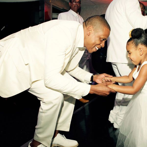 Blue Ivy Is a Dancing Queen and Jay Is a Doting Dad in Beyoncé's Personal Pics From Tina Knowles' Wedding! Tina Knowles, Richard Lawson, Beyonce, Jay-Z, Blue Ivy, Wedding
