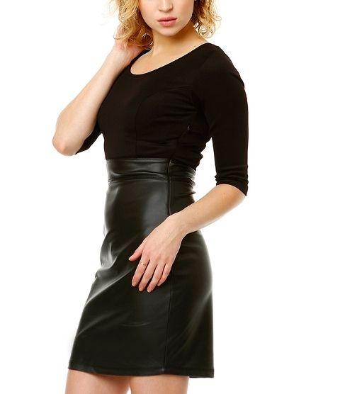 Siyah Elbise 8339 | Mixray.com