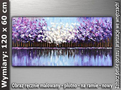 OBRAZ nr AB405 120x60 cm malarstwo obrazy do salonu