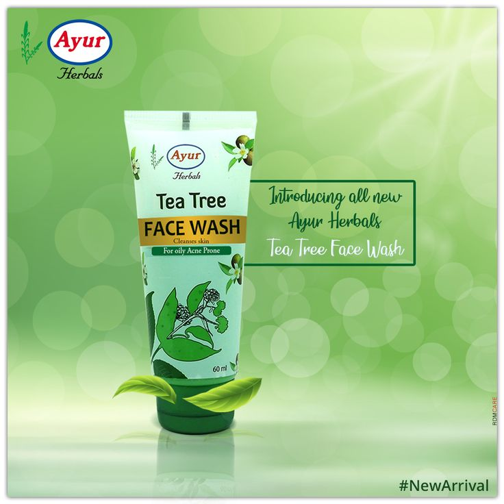 Introducing Ayur Herbals Tea Tree Face Wash For Your Acne