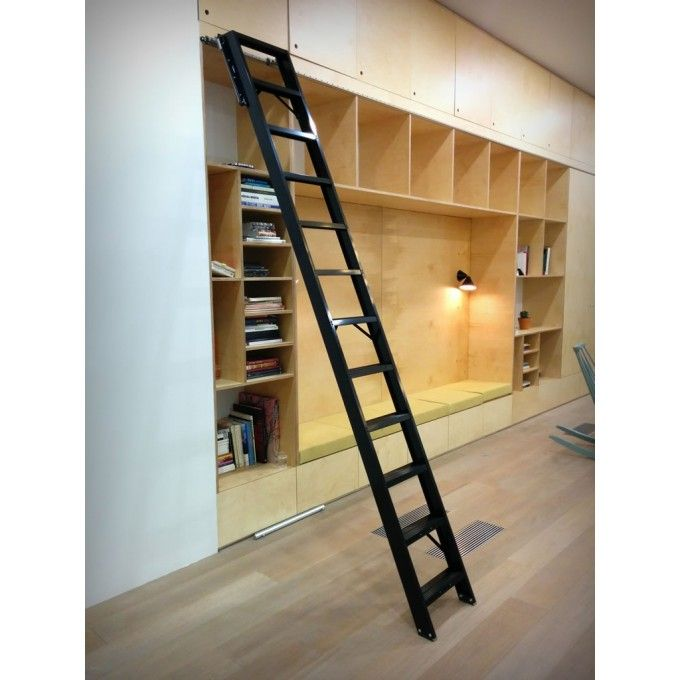 Rolling Ladder installed in large high street retailer's headquarters http://www.ladderstore.com/special-access/rolling-ladders/rolling-ladders.html