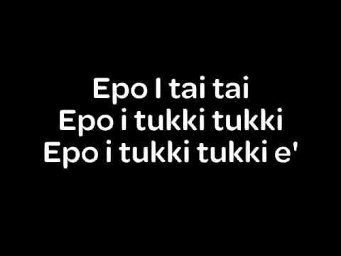 Epo I Tai Tai E - to teach syncopa and tie to Maori tititorea stick game