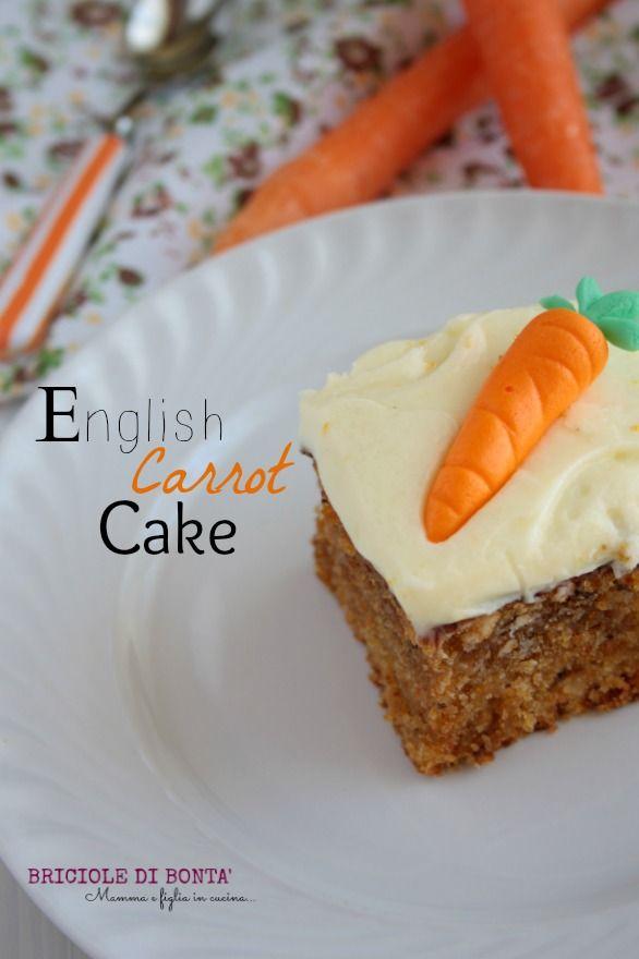 torta carote inglese