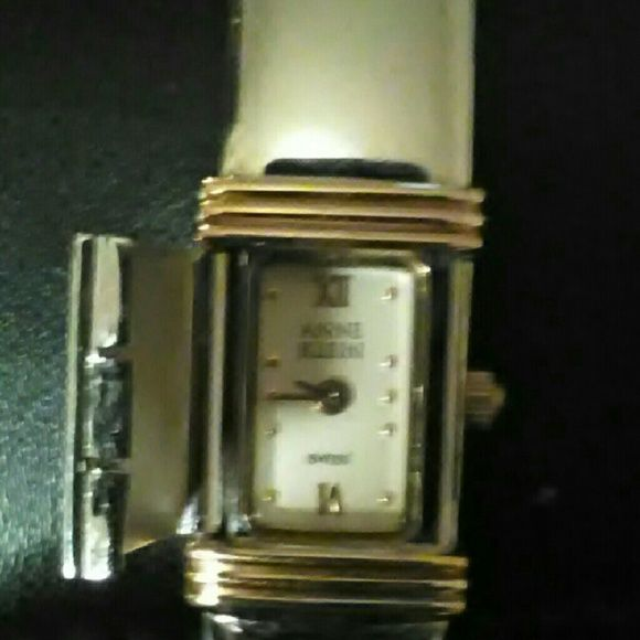 NEW Anne Klein : Ladies bangle watch New hidden bangle bracelet watch Anne Klein Jewelry