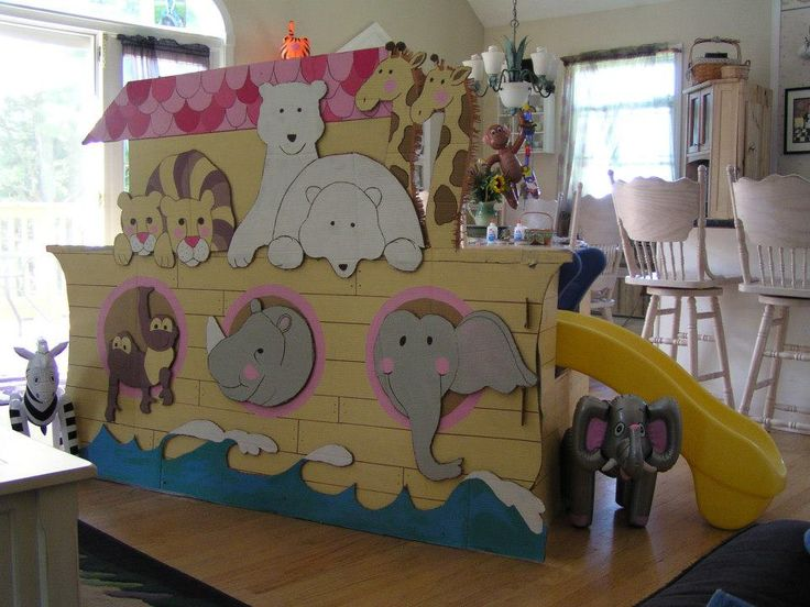 17 best images about noah 39 s ark party on pinterest for Noah s ark decorations