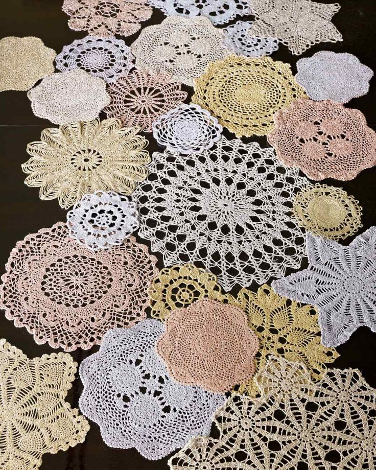 Doily Runner Entertaining Inspiration Crochet Doilies