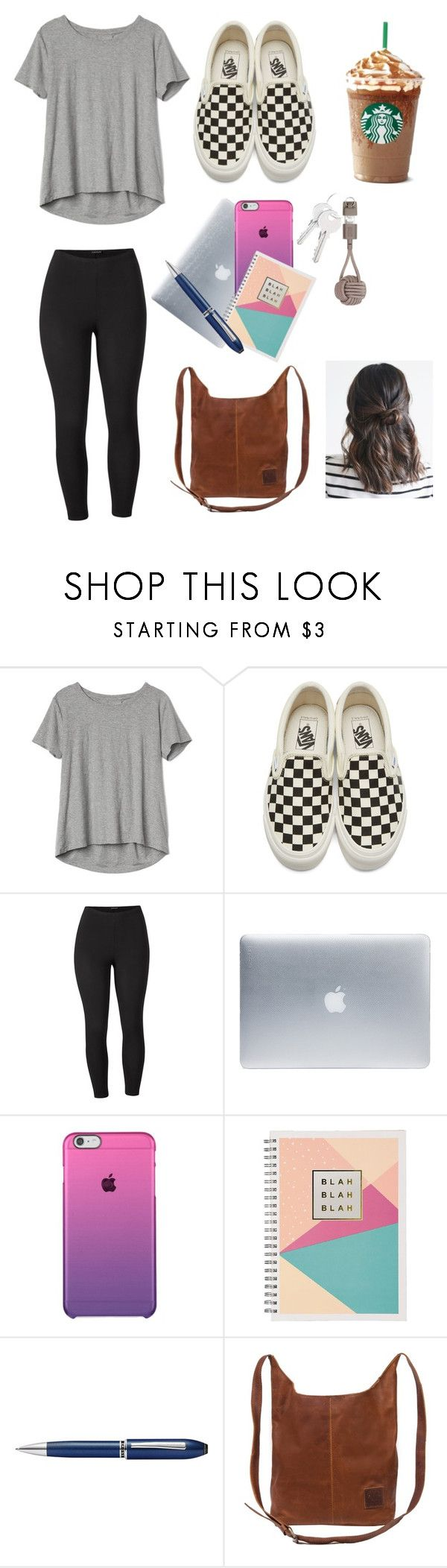 """First day of junior year!!"" by kyleighad ❤ liked on Polyvore featuring Gap, Vans, Venus, Incase, TrackR, Native Union and plus size clothing"