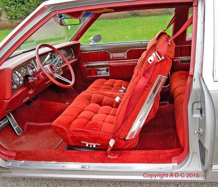1977 Buick Riviera interior | Classic Car Interiors ...