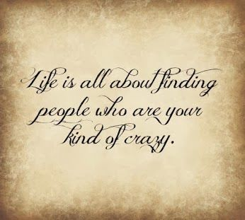 Quote of the Day - Life is About Finding People Who Understand You