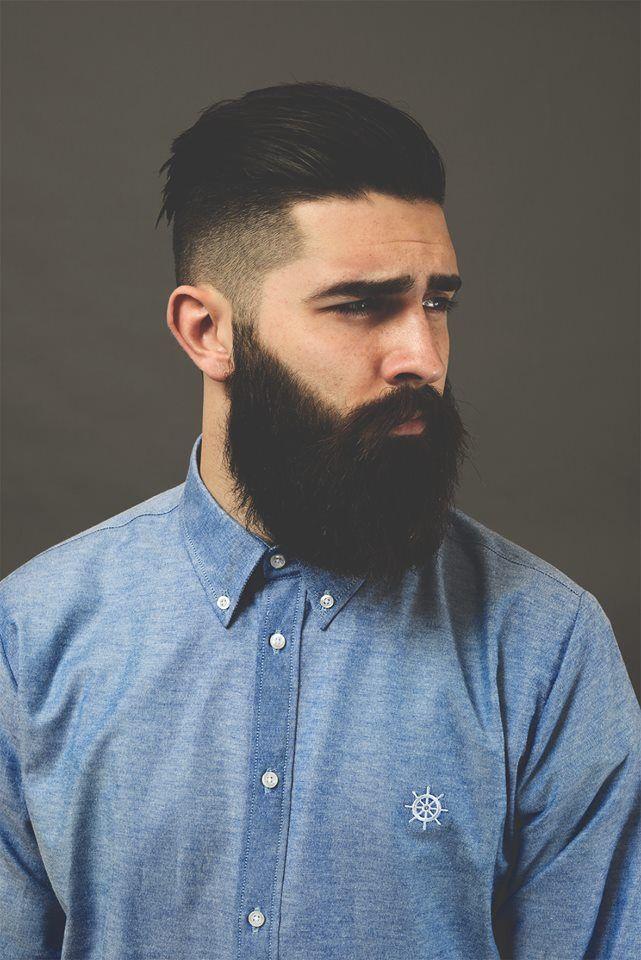 Cabelo e barba homem