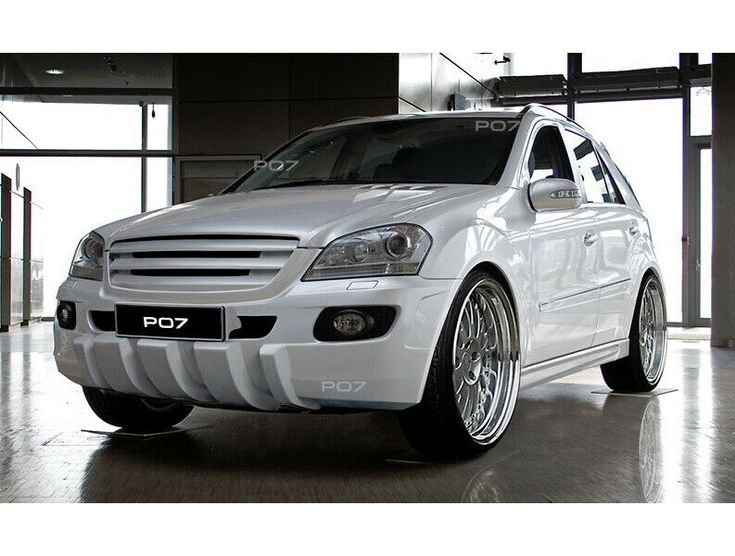Mercedes ML W164 Complete Verve Spoiler Set Body Kit Tuning Conversion new shoring