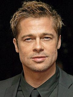 Brad Pitt.  So gorgeous. Love his movies, Oceans Eleven and so many others