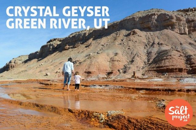 Crystal Geyser | Green River | The Salt Project | Things to do in Utah with kids