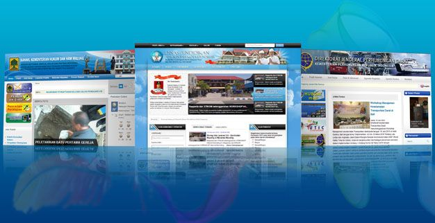 Jasa Pembuatan Website e-Government / Website Pemerintahan