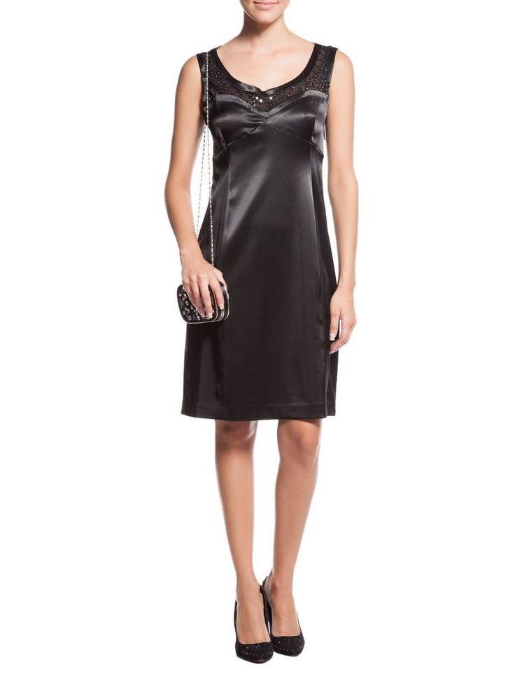 Schwarzes kleid mit spitze ebay