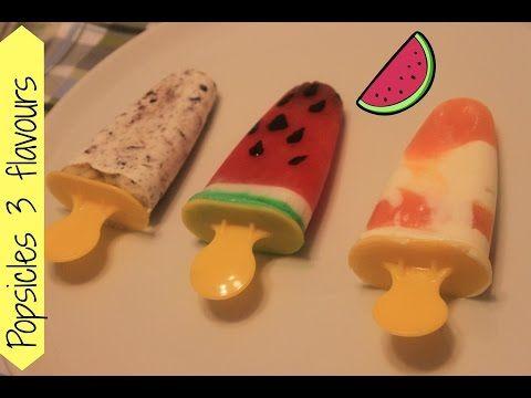 Popsicles/Мороженое на палочке в домашних условиях - YUMMY ADVENTURES - YouTube