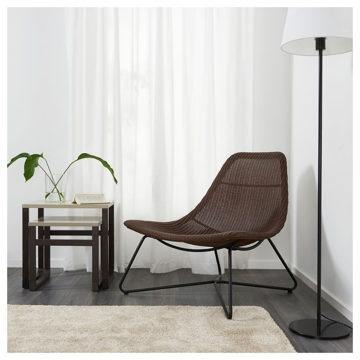 IKEA RÅDVIKEN armchair Furniture made of natural fibre is lightweight, yet sturdy and durable.