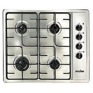 Mabe Cocina encimera gas 4 quemadores CMG6054SD