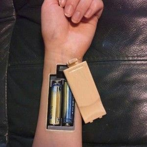 Low Battery - 3D body tattoos and paintings