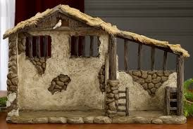 Image result for build a nativity stable