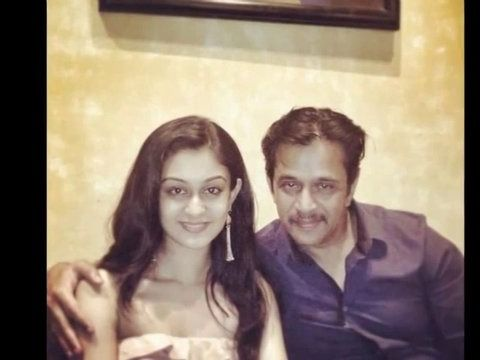 Actor Arjun Sarja daughter