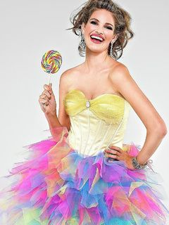 colorful prom dresses | High low split Prom Dresses pageant dress